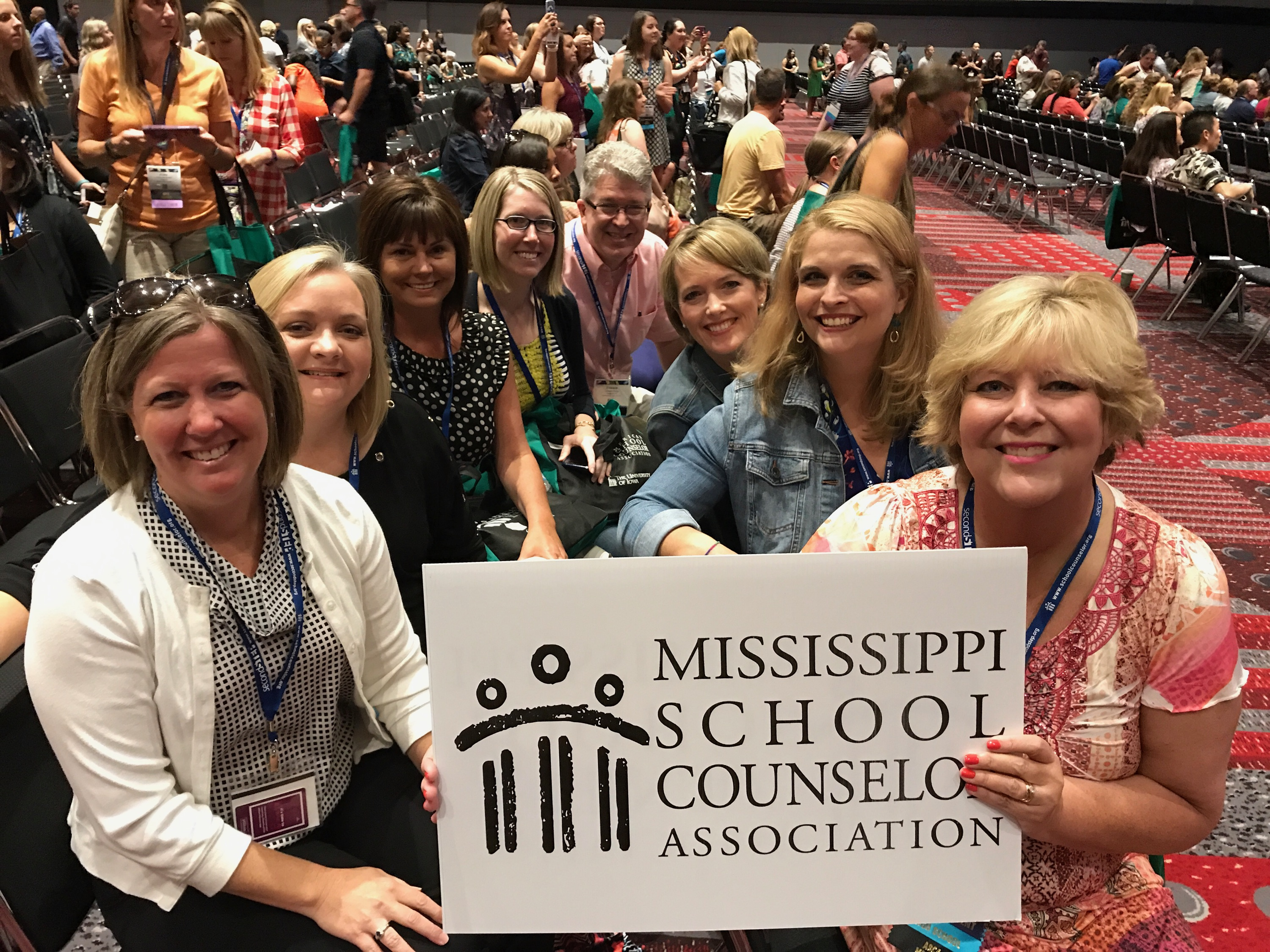 MS School Counselors at ASCA